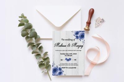 Wedding Invitation Template-v10