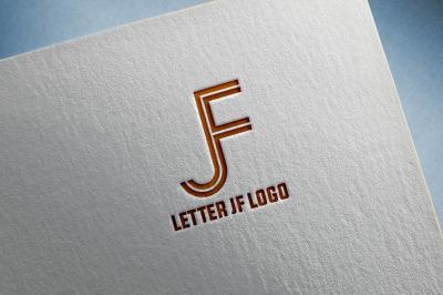 Letter J & F Logo