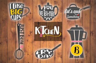 kitchen svg kitchen bundle cooking svg kitchen clipart coffee