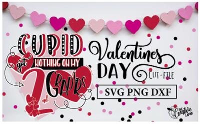 Valentine Cut-File Teacher Svg Cupid file