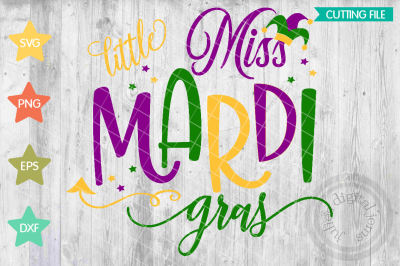 Little Miss Mardi Gras svg, Mardi gras baby