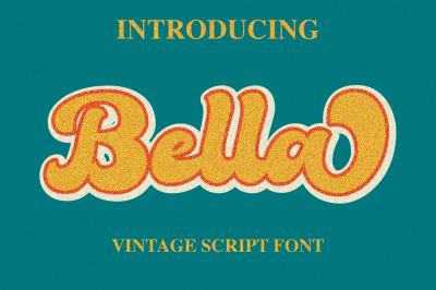 Bella - Vintage Script Font