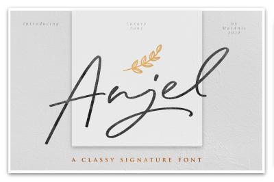 Anjel - Classy Signature Font
