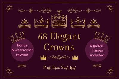 68 Elegant Crowns