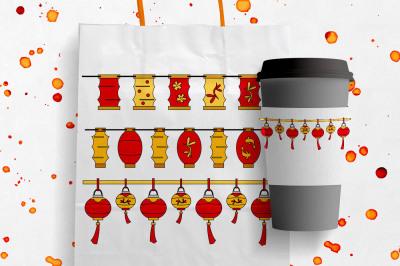 Chinese Lanterns - Lunar New Year