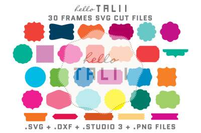 FRAMES SVG CUT FILES BUNDLE