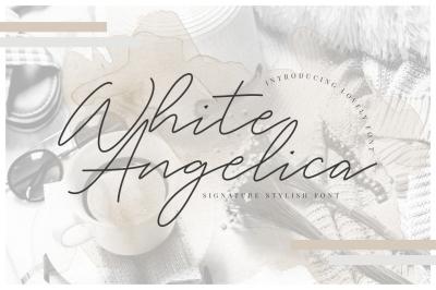 White Angelica Signature