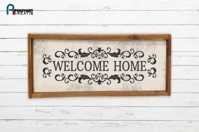 Welcome Home svg, Welcome svg, Home svg, Welcome Home Clip Art, svg