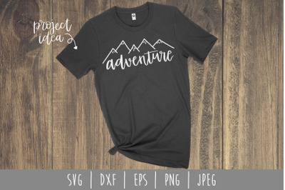 Adventure SVG, DXF, EPS, PNG, JPEG