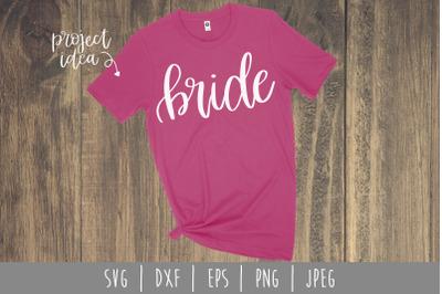 Bride SVG, DXF, EPS, PNG, JPEG