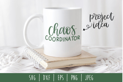Chaos Coordinator SVG, DXF, EPS, PNG, JPEG