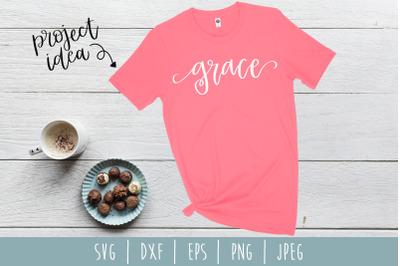 Grace SVG, DXF, EPS, PNG, JPEG