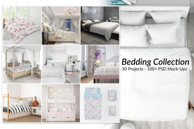 Bedding Bundle - 30 Mockups