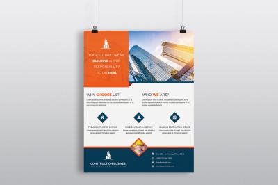 Construction Flyer Template