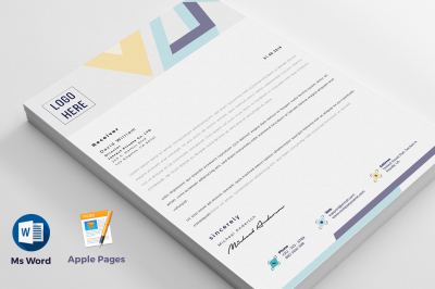 Letterhead With Ms Word Pages