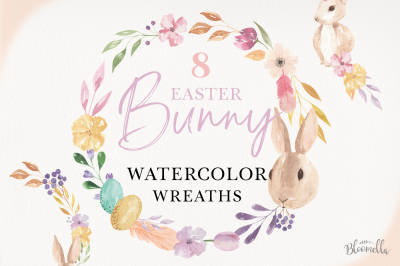 Easter Egg Bunny Wreath Flowers Floral Kit Rabbit Rabbit Kit
