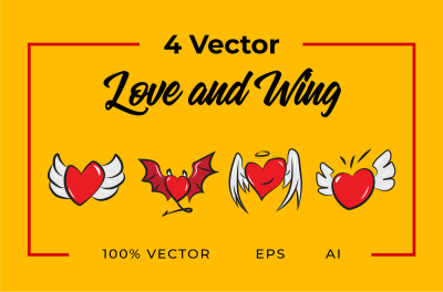 4 Vector Love and Wing
