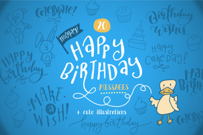 20 Happy Birthday Messages + Card Templates!