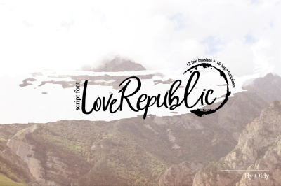 LoveRepublic/font+logo templates