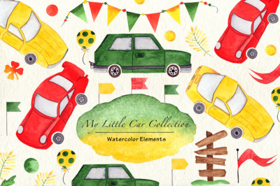 BOY's Little Car Collection
