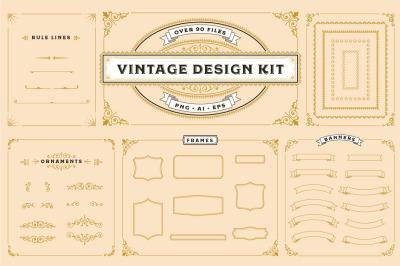 Classic Vintage Design Kit