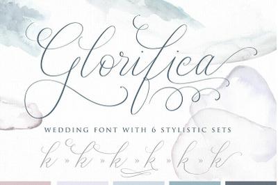 Glorifica Wedding Font