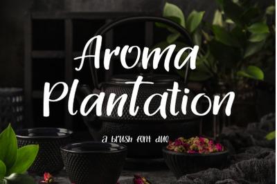 Aroma Plantation-font duo