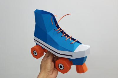 DIY Roller Skates - 3d papercraft