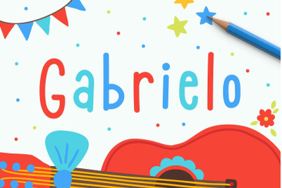 Gabrielo   Fun Handwritten Font