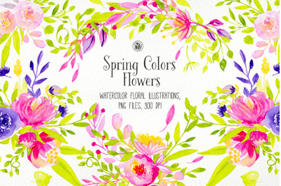 Spring Colors Flowers