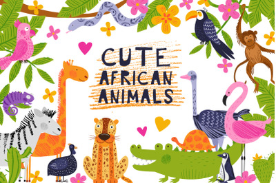 Cute African animals