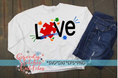 Autism Awareness | Love SVG