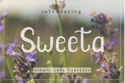 Sweeta - Simple Cute Font