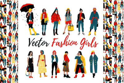 Fashion Girls Collection + Planner