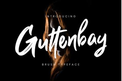 Guttenbay Brush Typeface