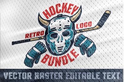 Hockey Emblem Retro Bundle