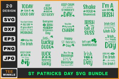 ST Patrick's Day Svg Bundle