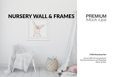Nursery Wall & Frames Set