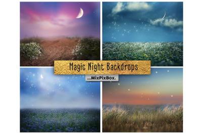 Magic Night Backdrops