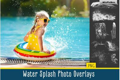 Water Splash Photo Overlays
