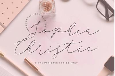 Sophia Christie Script