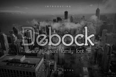 Debock Rounded Sans & Serif Font