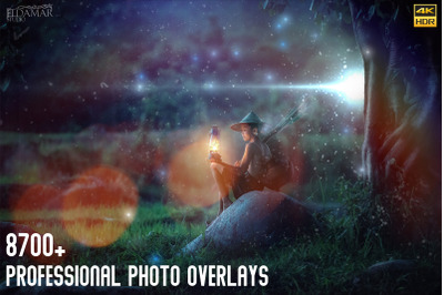 8700 Professional Photo Overlays