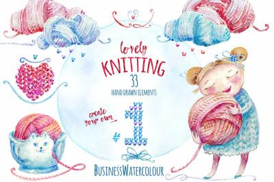 Lovely Knitting I