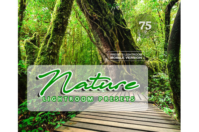 75 Nature Lightroom CC Mobile Presets (Adroid and Iphone/Ipad)
