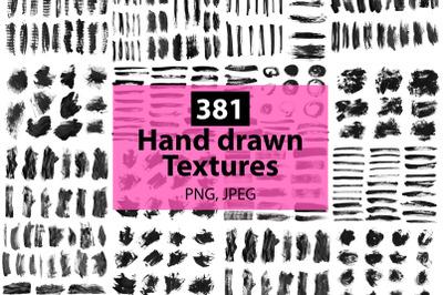 381 textures big set.