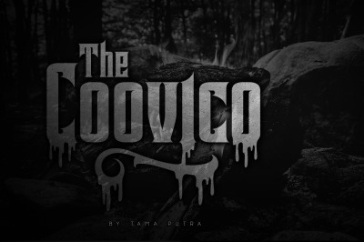 Coovico Bloody Typeface