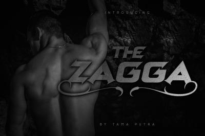 Zagga Decorative Display Typeface
