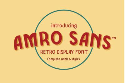 AMRO SANS-FAMILY