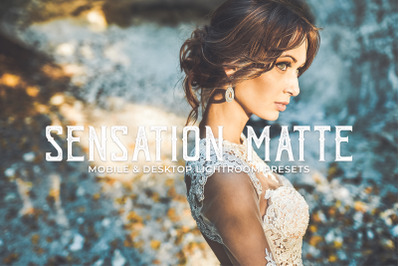 Sensation Matte Mobile and Desktop Lightroom Presets